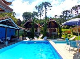Hotel Casa Alpina, hotel in Núcleo Mauá
