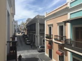 Old San Juan Balcony Apartment At Fortaleza St