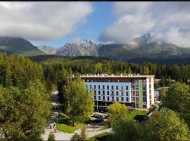 Apartment in Hotel Crocus, Strbske Pleso