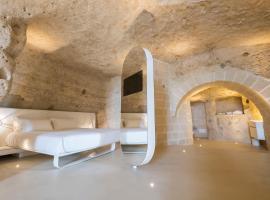 Aquatio Cave Luxury Hotel & SPA, hotel in Matera