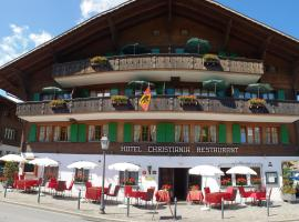 Hotel Christiania Gstaad