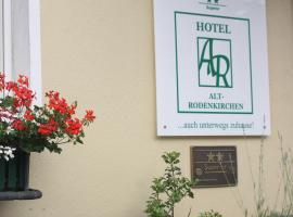 Hotel Alt-Rodenkirchen, hotel in Cologne