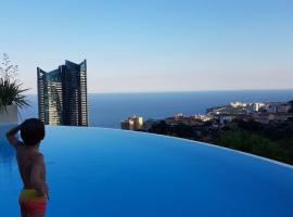 Le Beausejour, hotel near Monte-Carlo Golf Club, Beausoleil