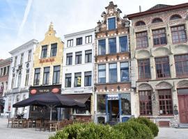 Recht op 't Stadhuis, hotel in Oudenaarde