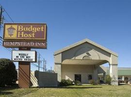 Budget Host Hempstead Inn Brookhollow/Energy Corridor, motel in Houston