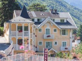 Chalet-Hôtel Le Belvédère, hôtel à Brides-les-Bains