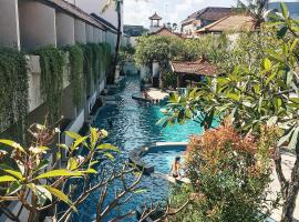 Kuta Lagoon Resort and Pool Villas, hotel with jacuzzis in Legian