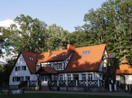 Leśniczówka Nibork, family hotel in Nidzica