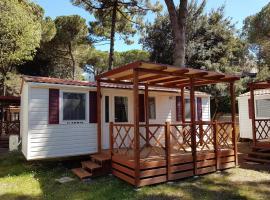 Victoria Mobilehome in Camping Mare e Pineta