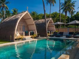 Gili Meno Escape, hotel with pools in Gili Meno