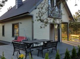 Domki wypoczynkowe LAS, self catering accommodation in Śliwice