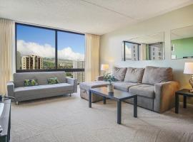 Waikiki Sunset 1BR Apartment - FREE PARKING