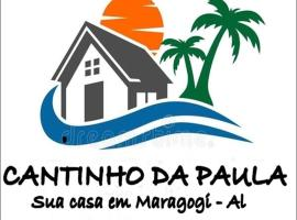 Cantinho da Paula, budget hotel in Maragogi