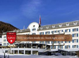 Hotel du Glacier – The Dom Collection, hotel a Saas-Fee
