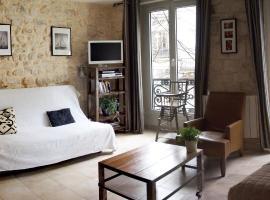 Appartement clair et lumineux au centre de Paris
