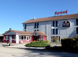 Kyriad Dijon Sud - Longvic, hotel in Longvic