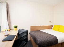 Cosy Hostel Student Rooms W/ Shared Kitchen in Aberdeen City Centre!, hotel in Aberdeen