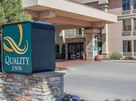Quality Inn South Colorado Springs, spa hotel in Colorado Springs
