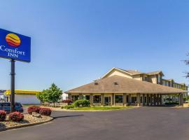 Comfort Inn Norwalk - Sandusky, hotel near Kalahari Waterpark, Norwalk