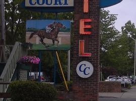 Community Court Motel, pet-friendly hotel in Saratoga Springs