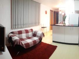 Apartamento Próximo à Lagoa do Desvio Rizzo, 10 min do Centro de Caxias
