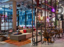 Moxy Frankfurt City Center, hotel in Frankfurt