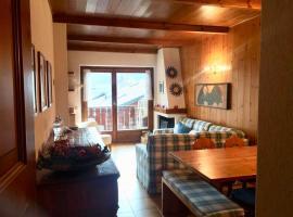 Residenza Terme Bormio: mansarda con box privato