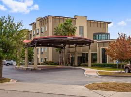 Best Western Plus Lackland Hotel and Suites.