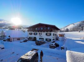 Steiningå #selfcheckin, hotel v destinácii Kirchberg in Tirol