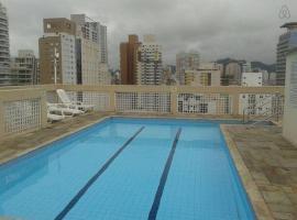 Linda cidade de Santos 1009, hotel in Santos