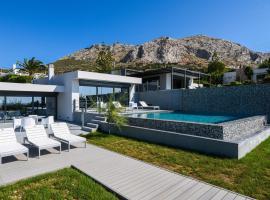 Luxury Beach Front Villa Selenia Gold in Sounio, Athens