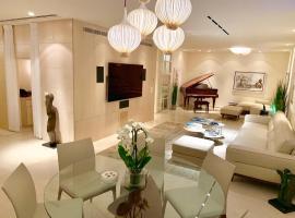 Dizengoff square presidential garden apartment