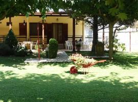 Garden beach house