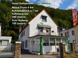 Hotel Hohenstein, hotel near Basilica St. Ludgerus, Essen