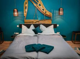 Park&Art Boutique Suites, hotel in Budapest
