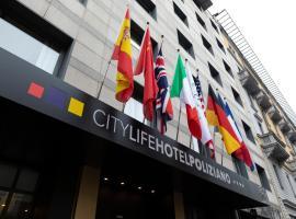 City Life Hotel Poliziano, hotel in Milan