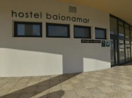 Hostel Albergue Baionamar, hotel en Baiona