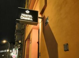 Damiell – hotel w pobliżu miejsca Willa Bertramka w Pradze