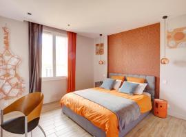 L'Amandine ,45 m2 terrasse et garage centre ville, hotel near Saint-Raphaël Valescure Train Station, Saint-Raphaël