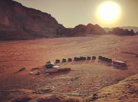 Wadi Rum Sky Tours & Camp