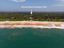 Nirvana Beach Boutique Hotel, hotel in Tangalle