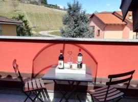 Centro Alba con vista sulle vigne