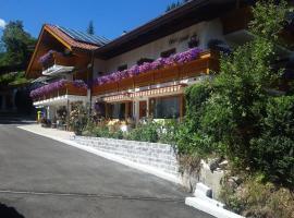 Gästehaus Amort Ferienwohnung, Hotel in Ramsau bei Berchtesgaden