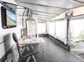 Mietwohnwagen A am Kransburger See