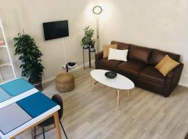 No. 6 Coeur de Marseille - design - wifi - confort, apartment in Marseille