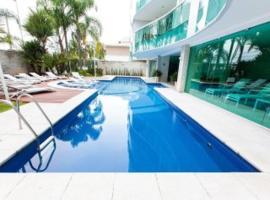 Excelente apartamento beira mar, hôtel avec jacuzzi à Rio de Janeiro