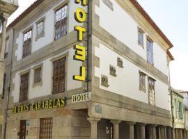 Hotel Tres Carabelas, hotel en Baiona
