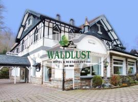 Hotel Restaurant Waldlust, haustierfreundliches Hotel in Hagen