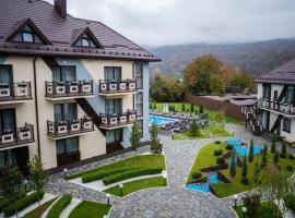 44 Широта, hotel with pools in Dakhovskaya