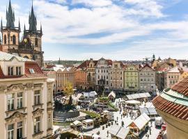 The Old Town Square & Parizska Apartments, hôtel à Prague près de: Rudolfinum